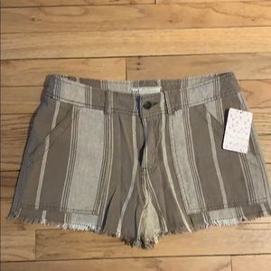 Free People Shorts - Free People Linen Shorts